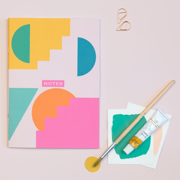 Shapes A5 Notebook The Design Palette