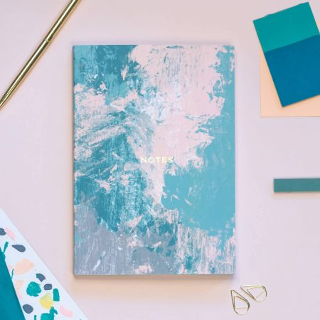 Abstract Art Notebook The Design Palette