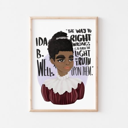 Ida B. Wells Wall Art by Another Wild Story on Acorn and Pip Loves