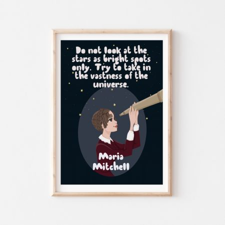 Maria Mitchell Wall Art by Another Wild Story on Acorn and Pip Loves