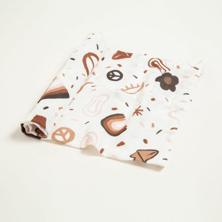 Organic Cotton Muslin Swaddle by Too Many Pjs