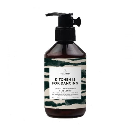 The Gift Label – Kitchen Is For Dancing Hand Lotion