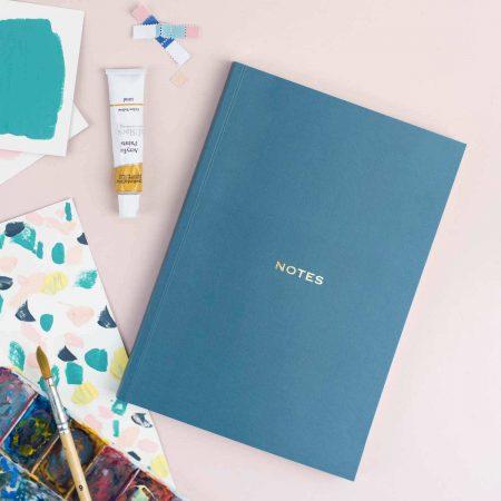 Teal Notebook The Design Palette