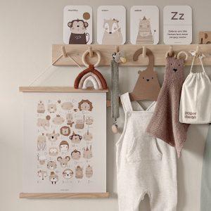 ABC Nursery Print by Paper & Bean
