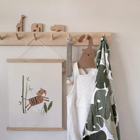 Paper & Bean on Acorn & Pip Safari Jungle nursery prints