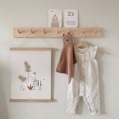 Paper & Bean on Acorn & Pip Loves Safari Nursery Prints