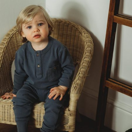organic rib loungewear set boys little dot to dot acorn and pip loves