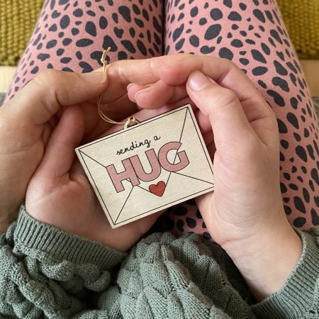 Send a hug decoration by Fearless flamingo on Acorn & Pip Loves