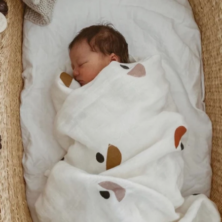 Little beacon muslin blanket