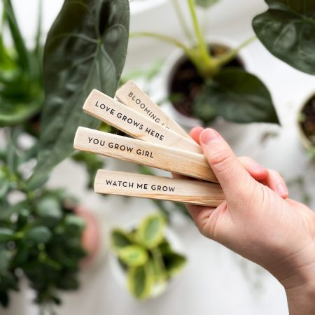 plant markers by Two Stories Gifts