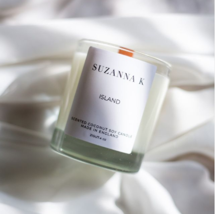 Island Candle by Suzanna K