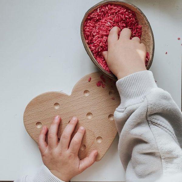 little coach house heart board
