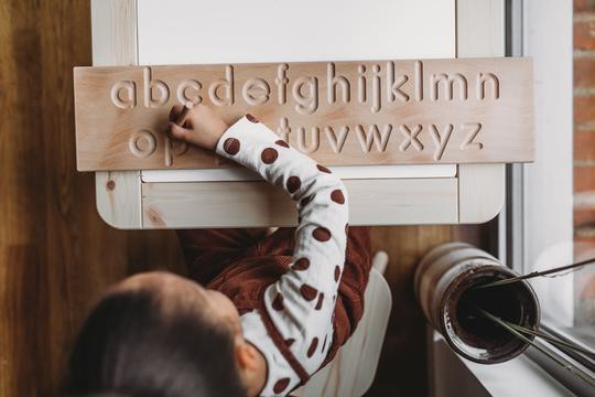 little coach house alphabet board