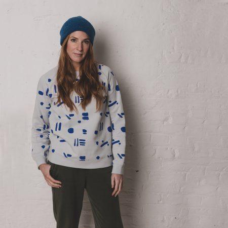 Line Dots sweatshirt ADULTS