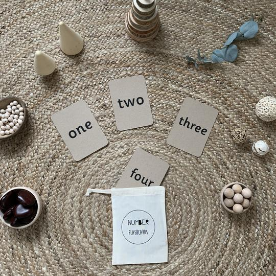 little coach house number flashcards