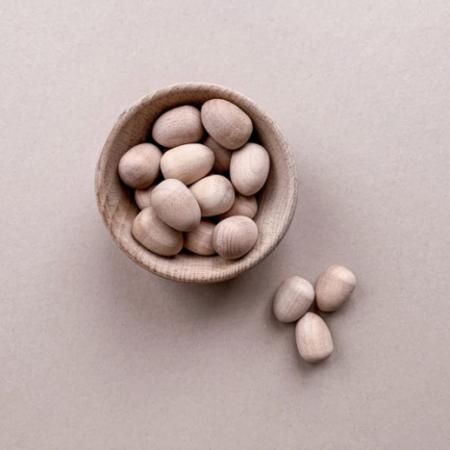 Little coach house Wooden Eggs