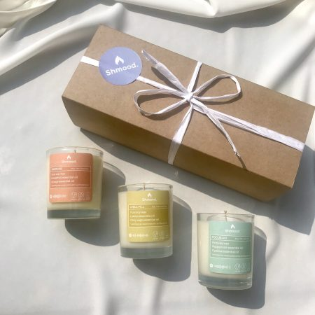 gift set trio of candles