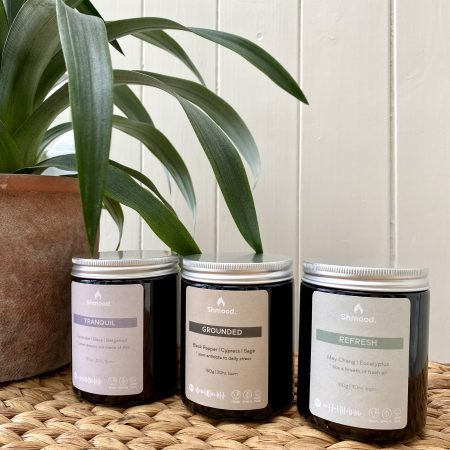 mindfulness candle collection