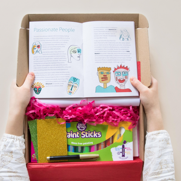 Lots of Lovely Art boxes for children